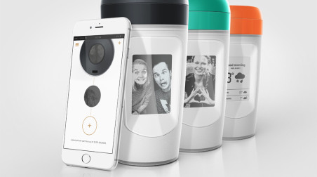 Muki connected coffee cup