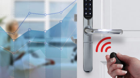 Smart door lock trends