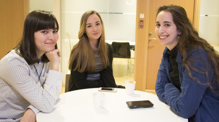 Maya, Ewelina and Michal