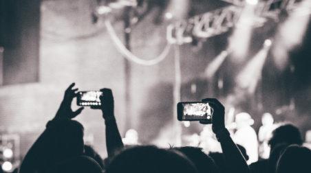 Sharing at concert