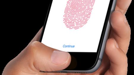 iPhone 6 fingerprint scanner