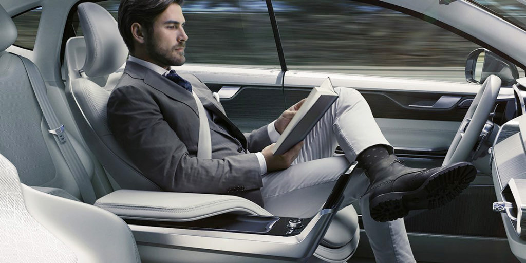 Volvo self driving concept
