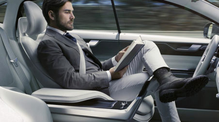 Volvo self driving concept