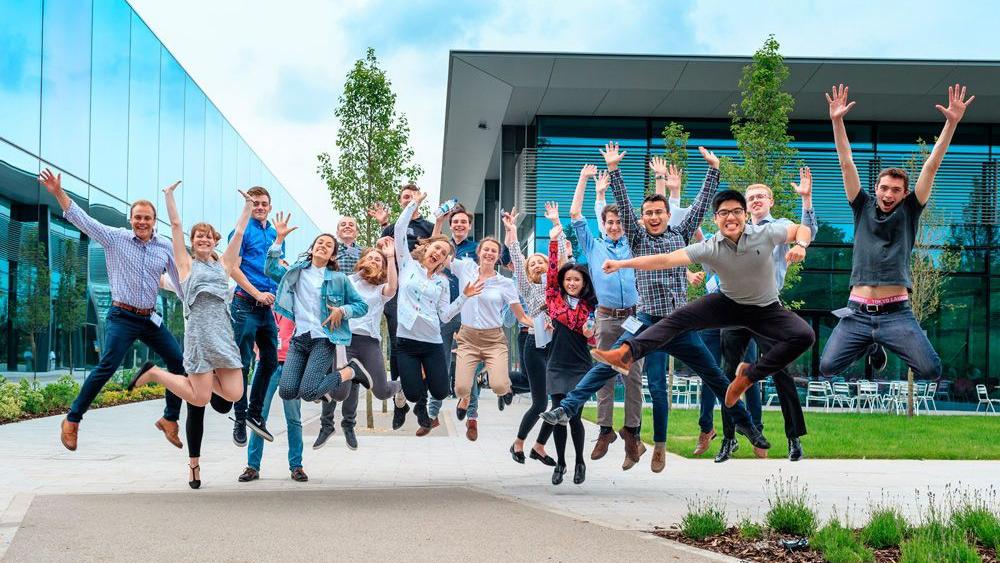 Dyson graduates and apprentices