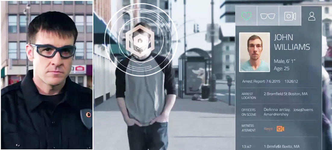 Smart glasses with Augmented Reality