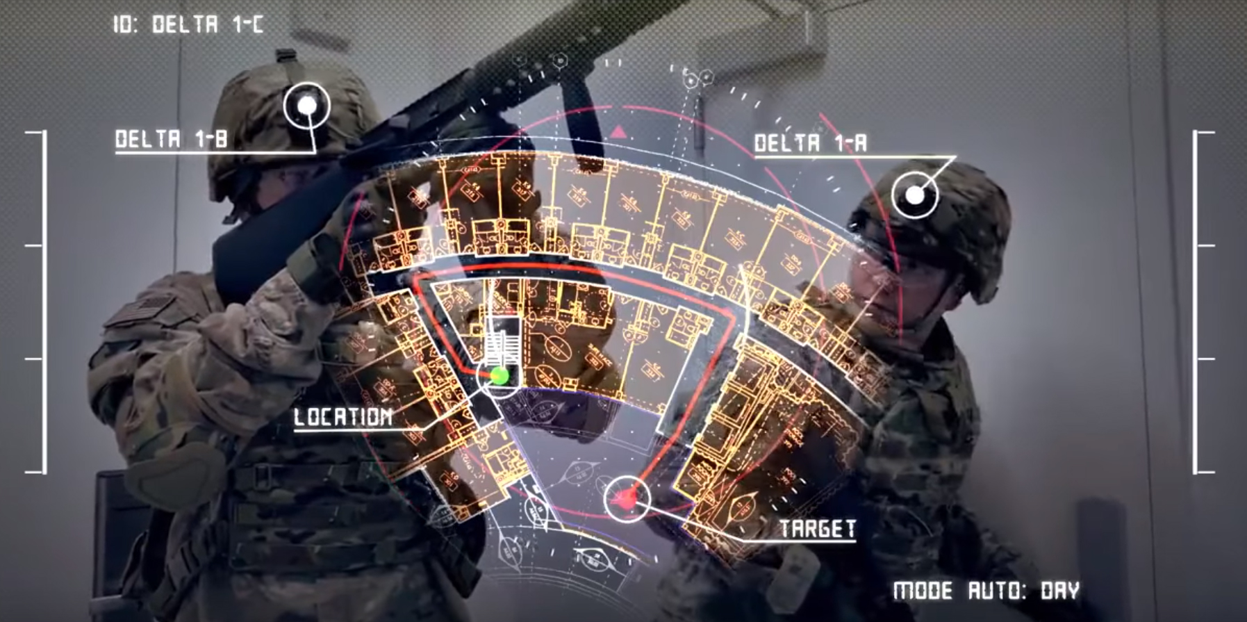 Augmented Reality with precise GPS technology