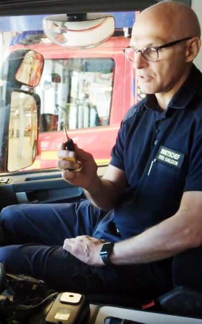 Cliq remote fire department