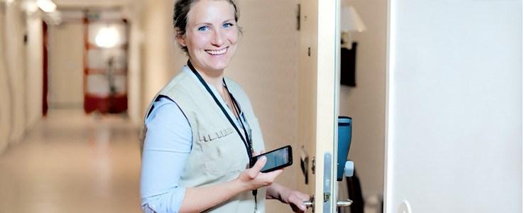 Phoniro home care smart lock